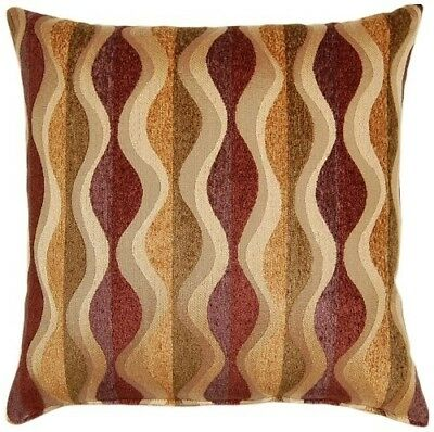 Dakotah Knife Edge Throw Pillows, 43cm by 43cm , Pipeline Harvest. Free Delivery