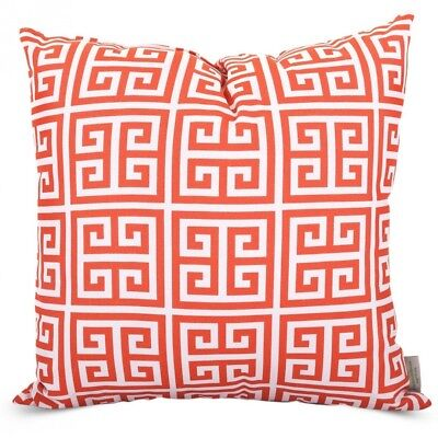Majestic Home Goods Towers Pillow, Large, Orange. Best Price