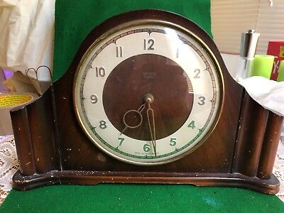 Vintage Smiths 4 Jewels Eight Day  Carriage Clock  Made In Britain