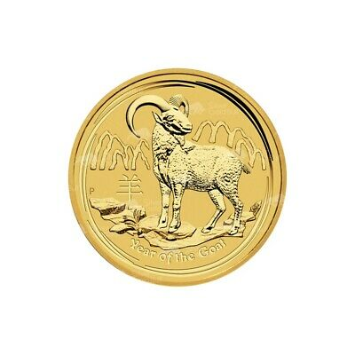 1/4 oz 2015 Lunar Year of the Goat Perth Mint Gold Coin