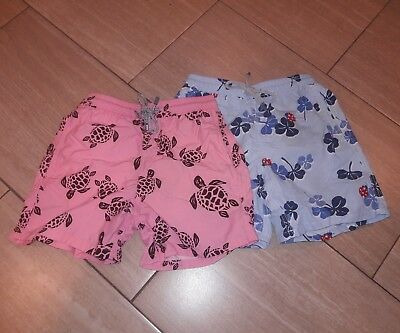 Vilebrequin Lot Of Two Sz 10Ans Multi Colored Boys Bathing Suit