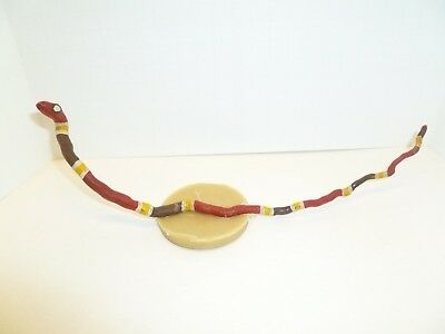 Signed & Dated FOLK ART ROOT SNAKE by Dominic Tomassetti