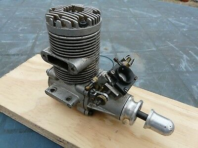 Vintage Webra Speed 61 Rc Engine With Dynamix Carb