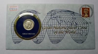 COINS OF ALL NATIONS GREAT BRITAIN 1 SHILLING 1912 Silver Coin