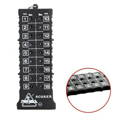 With Key Chain Score Counter Score Card Golf Stroke Counter Counter Indicator