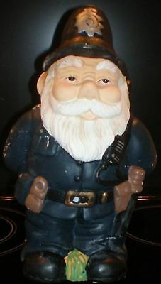 Latex Mould To Make Garden Policeman Gnome Reusable Art & Crafts Hobby Business