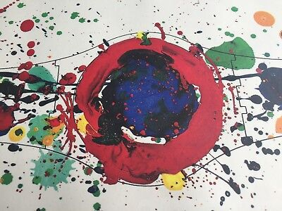 Sam Francis for SWATCH offset lithograph1992 signed with original package - NEW