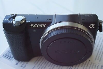 Sony Alpha a5000 20.1MP Digital Camera, with battery, charger, manual. Working.