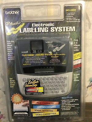 brother electronic labeling ststem
