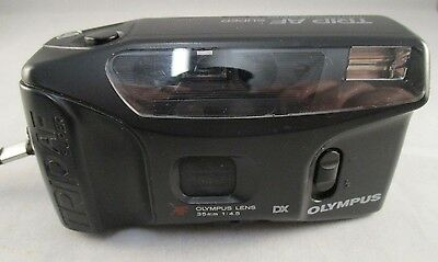 Vintage Olympus Trip AF Super  35mm Point & Shoot Camera