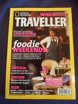 National Geographic Traveller - May/Jun 2013 - Antigua - Bhutan - Foodie breaks