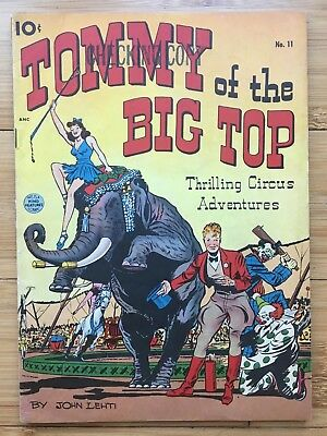 Tommy Of The Big Top #11