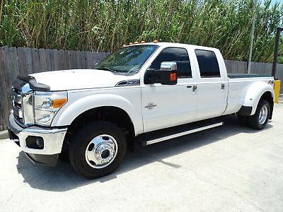 Ford Super Duty F-350 DRW Pickup Lariat 2014 Ford Superduty F350 Lariat Crew Cab 4x4 6.7L Power Stroke Turbo Diesel
