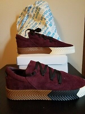 e887788c ADIDAS AW SKATE Alexander Wang BY8909 size 11 Maroon NEW with box ...