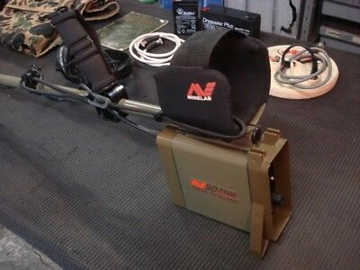 Minelab--Sd2100--Gold Detector--Great Condition--Has Found Gold