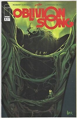 OBLIVION SONG #4 Secret Rare Frog Variant Robert Kirkham De Felici NM- or Better
