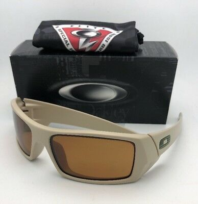 bd24eac154 OAKLEY Sunglasses GASCAN 11-015 60-15 Desert with Bronze Lenses and US FLAG