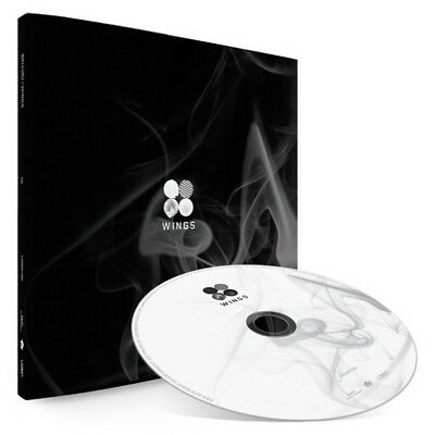 BTS 2nd Album [WINGS] G version CD + 96p Photobook + Photocard Sealed