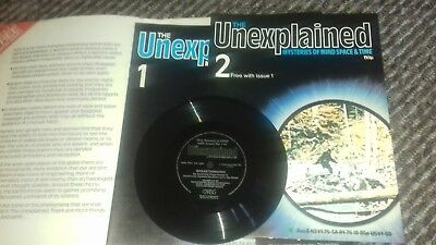 the unexplained mysteries of mind space and time with free record good condition