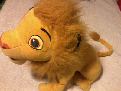 lion king ready to roar simba 13 inch hasbro not working may be repairable