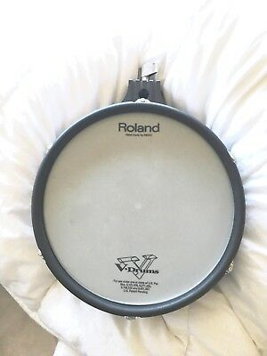 Roland PD-105 Electronic V Drum Dual Zone 10 Inch Mesh Head > Made In Japan