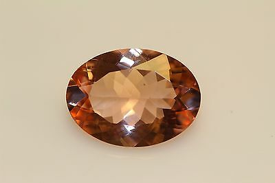 Morganite Oval Peach  Gorgeous  Exotic 11 Cts Must See  Collectors Item