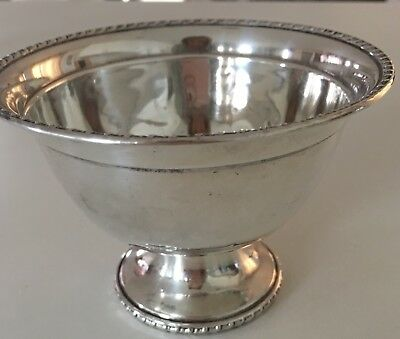 M Fred Hirsch Antique Sterling Weighted 405 Candy Dish