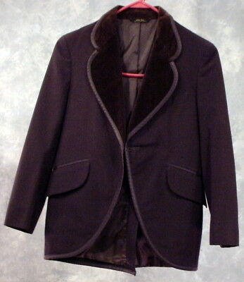 Boys Chocolate Brown Tux Jacket For Old Time Photos Reenactment Costume