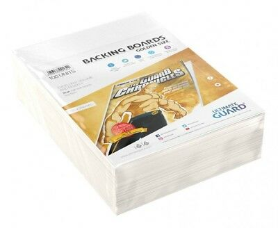 Ultimate Guard Backboards Comics Golden Size (100) Lot 100 Backing Boards 01342
