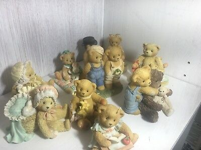 cherished teddies lot all in great condition.