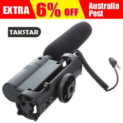 TAKSTAR SGC-598 Condenser Photography Interview Recording Microphone for T0 A6L6