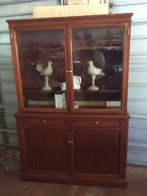 Timber Bookcase, Display Cabinet