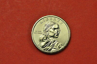2011-P   BU Mint State (Sacagawea) US One Dollar Coin