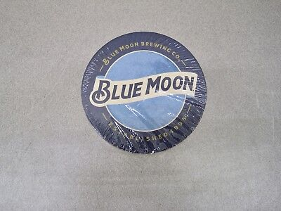 Sleeve of 100 Blue Moon Brewing Co. Coasters