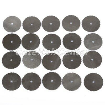 20PC 25mm Stainless Steel Saw Disc Circular Wheel Cutting Off Wood Blades Slice
