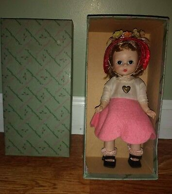 Madame Alexander Vintage ALEXANDER KINS BKW Doll #500 Tosca Hair with Box
