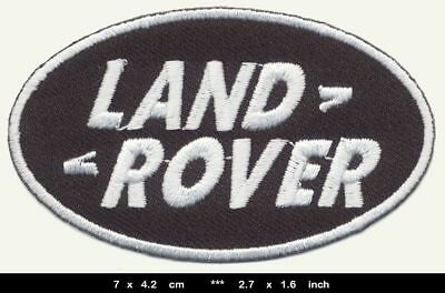 LAND ROVER Landrover Aufnäher Patch Auto Jeep Defender Discovery BLITZSENDUNG