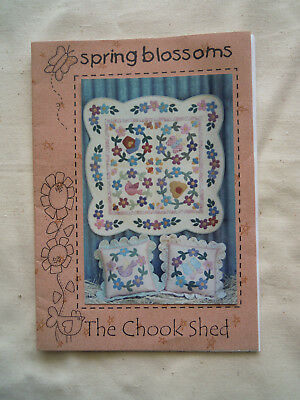 Spring Blossoms Quilt and Cushion Pattern
