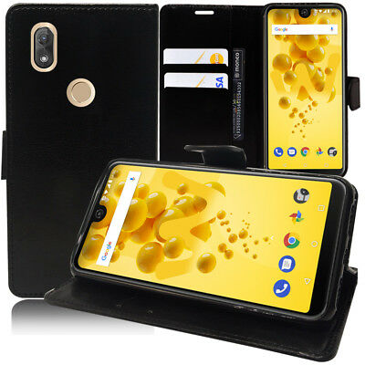 "Housse Coque Portefeuille Wiko View2 6.0"" (non compatible Wiko View 2 Pro 6.0"")"