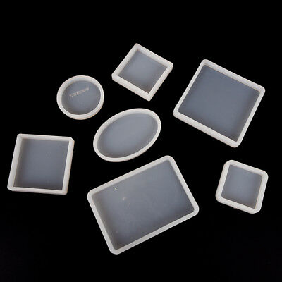DIY Clear Silicone Mold Polymer Clay Resin Casting Craft Jewelry Making BG