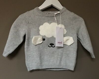 Seed Heritage Baby Jumper Size 3-6 Months RRP$49.95