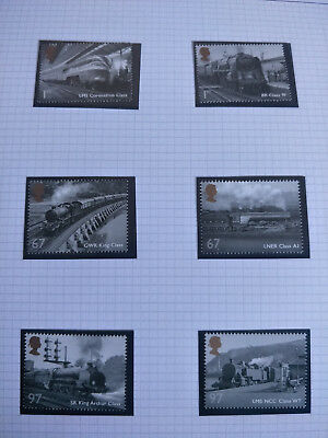 Great Britain 2010 The Wonder of the Wheel Stamp Set MNH