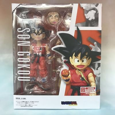 Bandai Tamashii Dragon Ball Z S.H. Figuarts Kid Son Goku Action Figure USA NEW