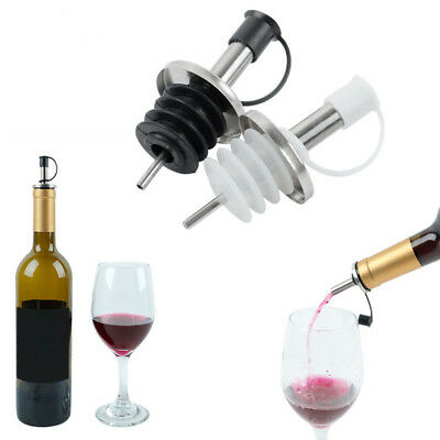 1or3 PCS Wine Pourer Stopper Stainless Steel Olive Dispenser Bottle With Mouth