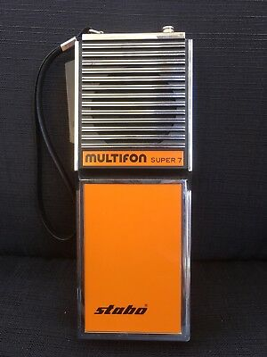 Original Stabo Multifon Super 7 orange Retro