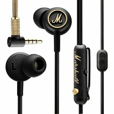 Marshall Mode EQ Earphones In-Ear Earbuds Microphone Remote Stereo bass Mic