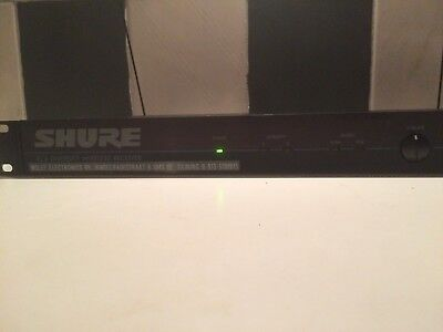 Shure EC4 Diversity Wireless Microphone & Instrument Receiver