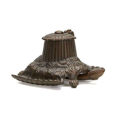 Arts & Crafts Articlated Tortoise Desk Stand 1883