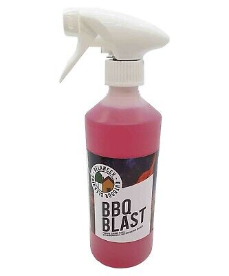 BBQ BLAST 500ml - Grill and Barbecue Cleaner - includes Free Gloves!