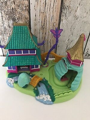 Polly Pocket Mini 💖💕 Disney Mulan Glitzerschloß 1997